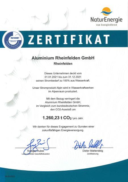 Aluminium Rheinfelden GmbH_Alpin_esb